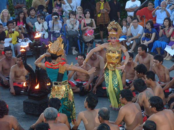 Бали танец Кечак