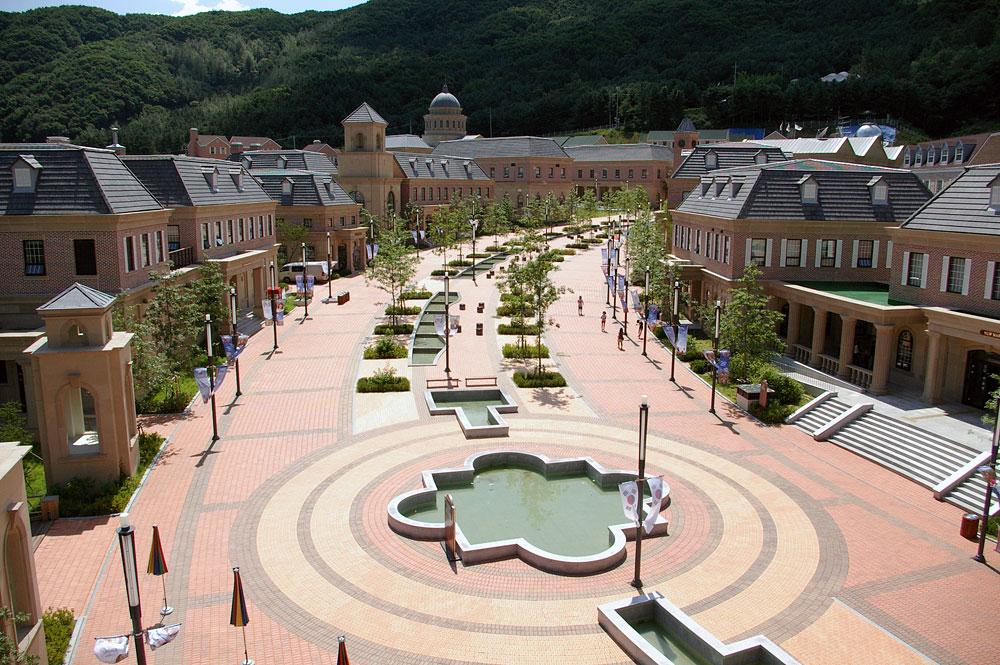 Английская деревня Сеул