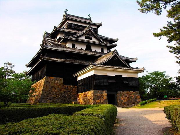самурайский замок мацуэ