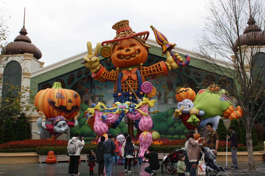 "хеллоуин Тур в Сеул ""Фестиваль Хеллоуин"". Паром"