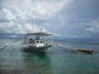 Местная лодка бангка, Боракай, Филиппины, Bangka