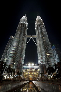 Башни Петронас, Малайзия Куалу Лумпур