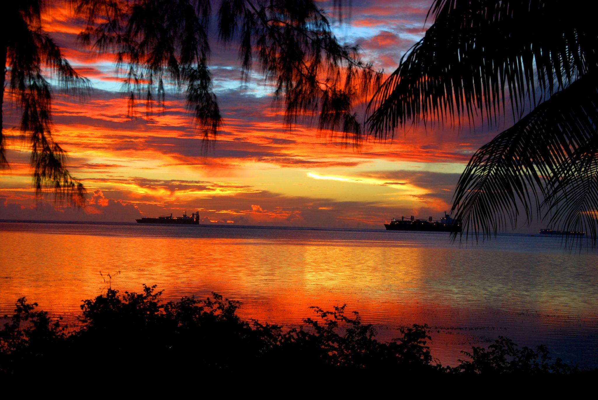Saipan Закат