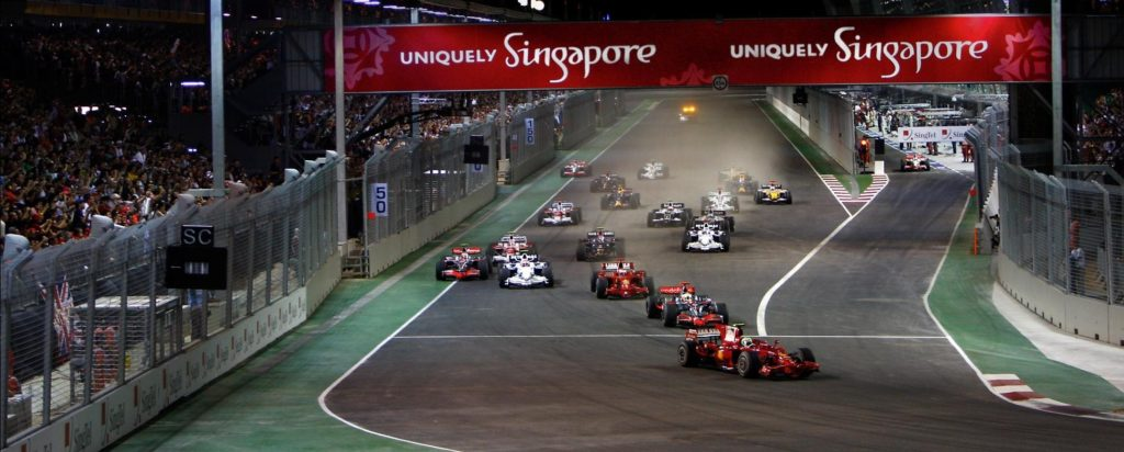 2010 FORMULA 1 SINGTEL SINGAPORE GRAND PRIX  Формула 1. Сингапур. 24-26 сентября