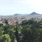 Греция. Афины. Вид на город