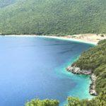 Остров Кефалония. Греция. Пляж Антисамос. Antisamos beach