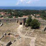 Киллини. Греция. замок-крепость Chlemoutsi (Clermont — Castel Tornese)