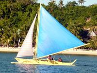 Парусник Paraw, Боракай, Филиппины