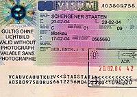 С 5 апреля 2010 года вступит в силу новый визовый кодекс, который будет обязательным для всех стран-участниц Шенгенского соглашения