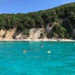Сивота. Греция. Пляж Голубая лагуна. Blue Lagoon beach, Sivota