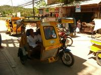 Трицикл. Mototrike, Боракай, Филиппины